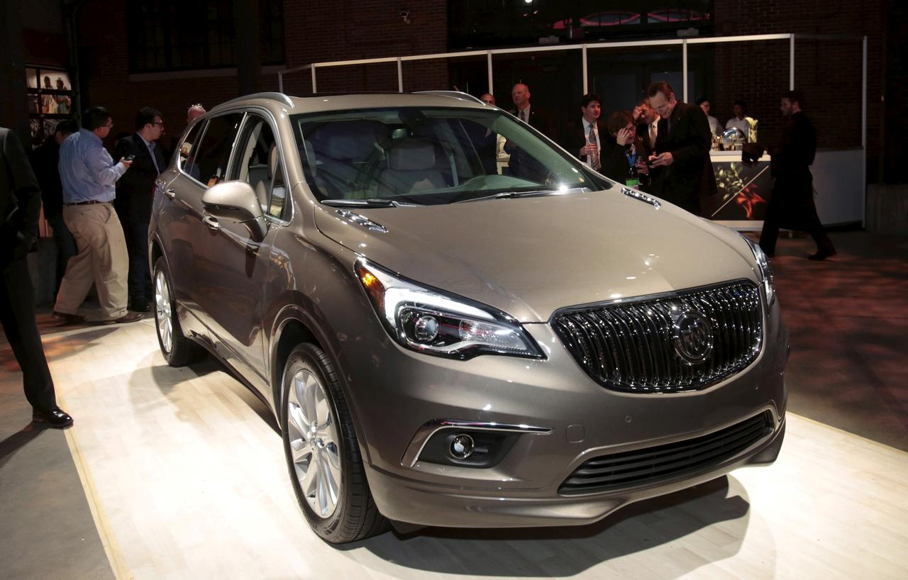 File Photo General Motors Co Displays Its U S Version Of The Buick Envision Crossover First China Built Car Imported To By A Detroit