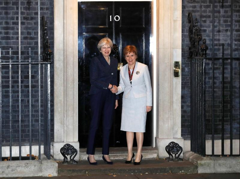 PM May to meet Scotland's Sturgeon after Brexit standoff