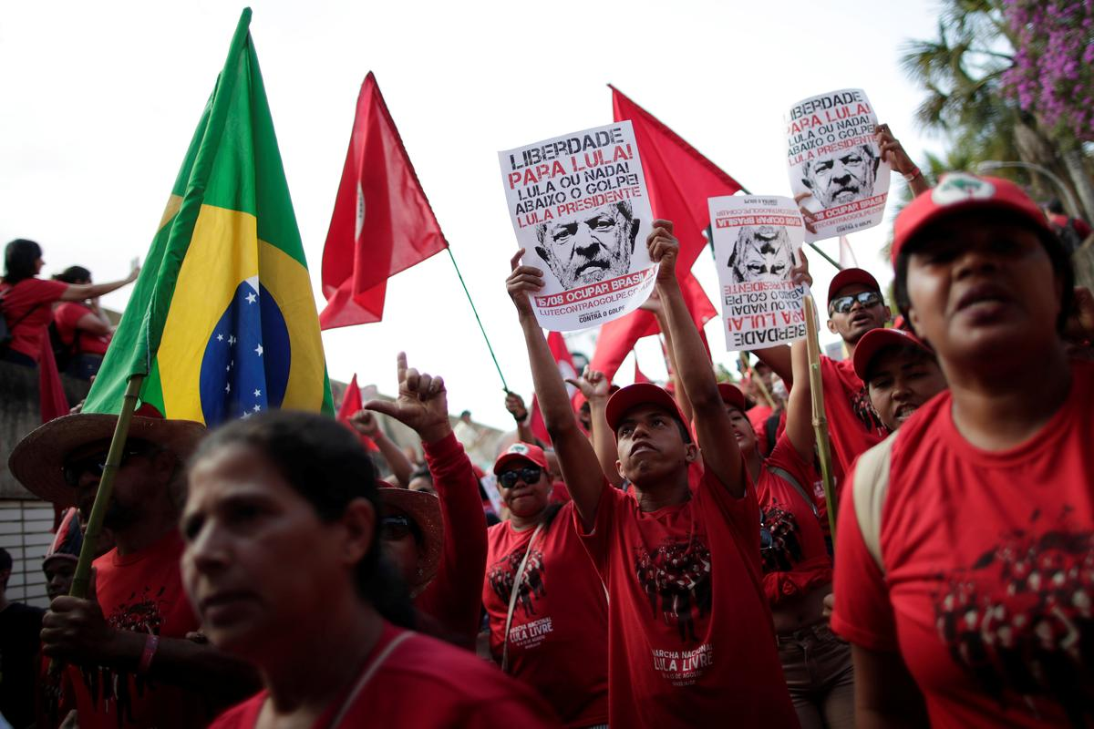 Brazil's Lula to register as presidential candidate from jail | Reuters