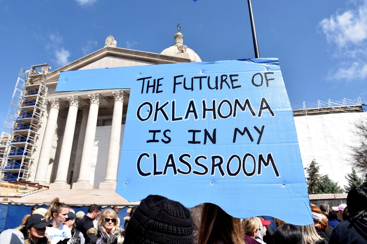 Oklahoma Starts School Year Short Of Teachers Despite Pay Raise
