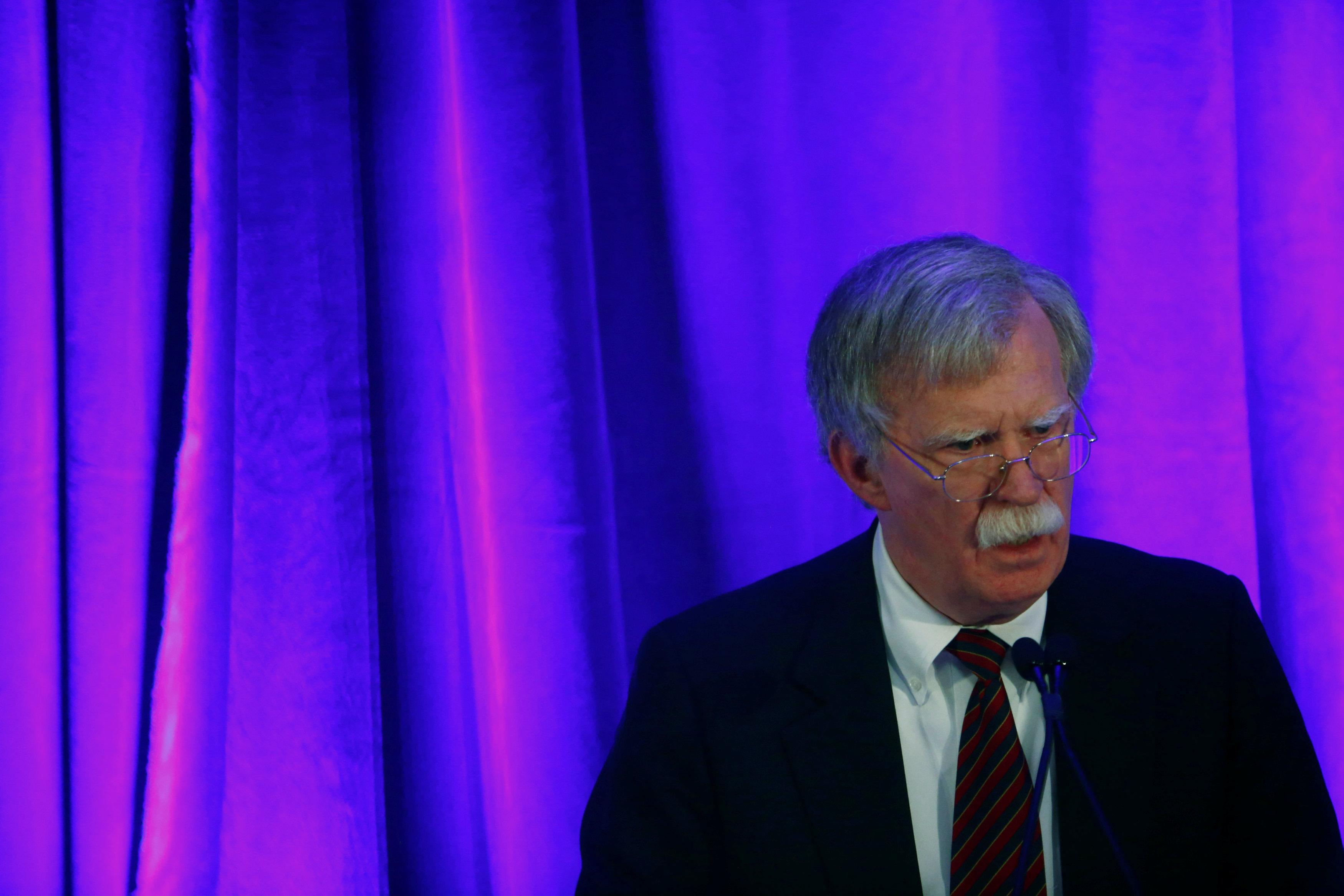 Russia missile sale to Syria is 'significant escalation': U.S.' Bolton