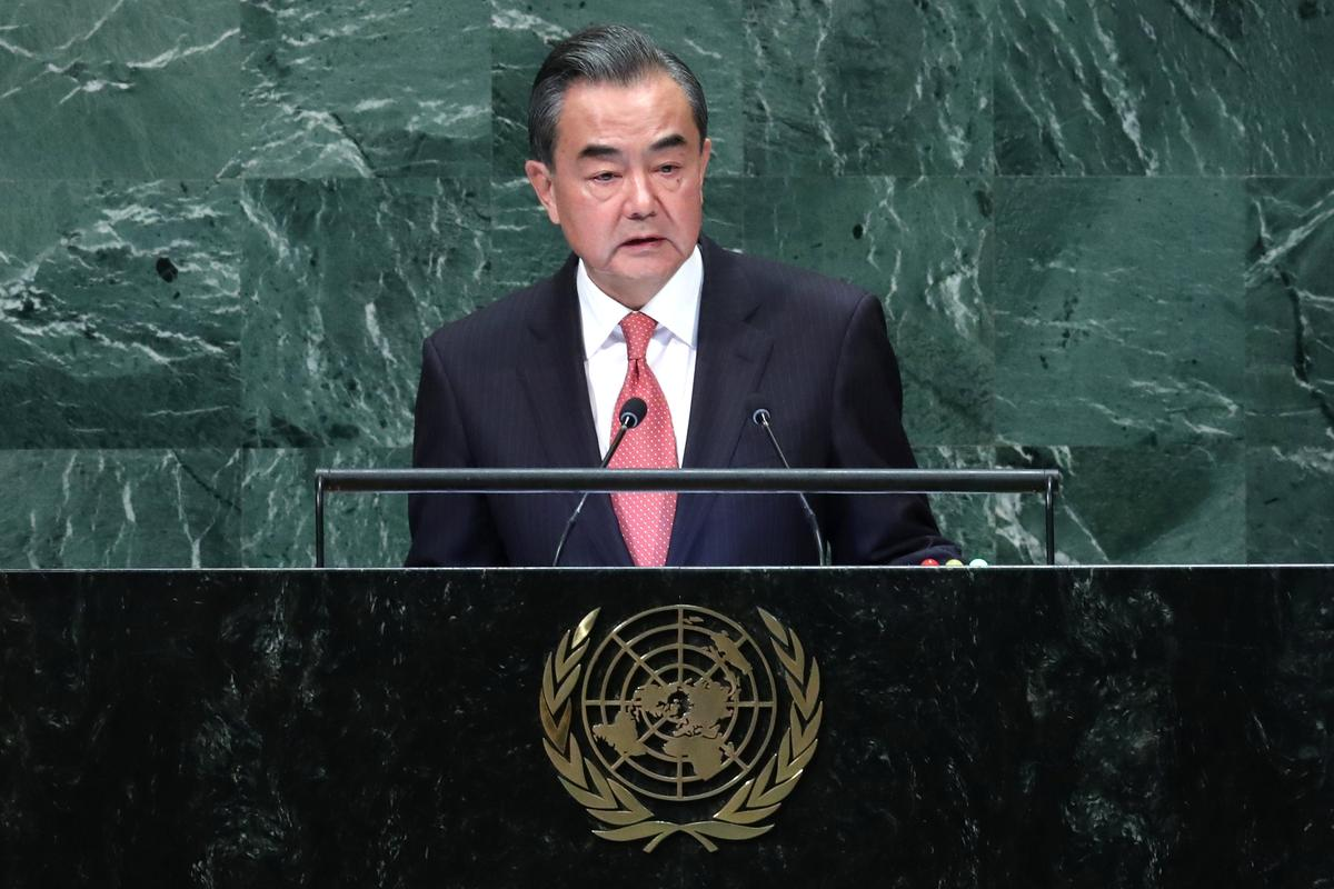 China tells U.N. it will not be 'blackmailed' or yield to trade pressure