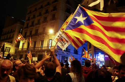 Clashes on anniversary of Catalan referendum