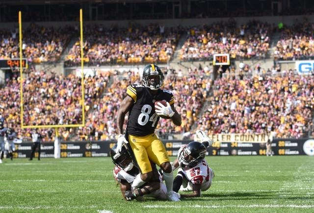 Reports: Steelers wide receiver Brown faces two lawsuits