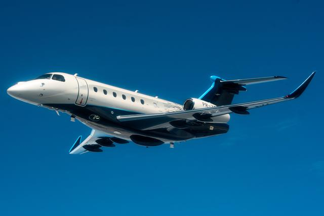 Embraer launches longer-range private jets in turnaround