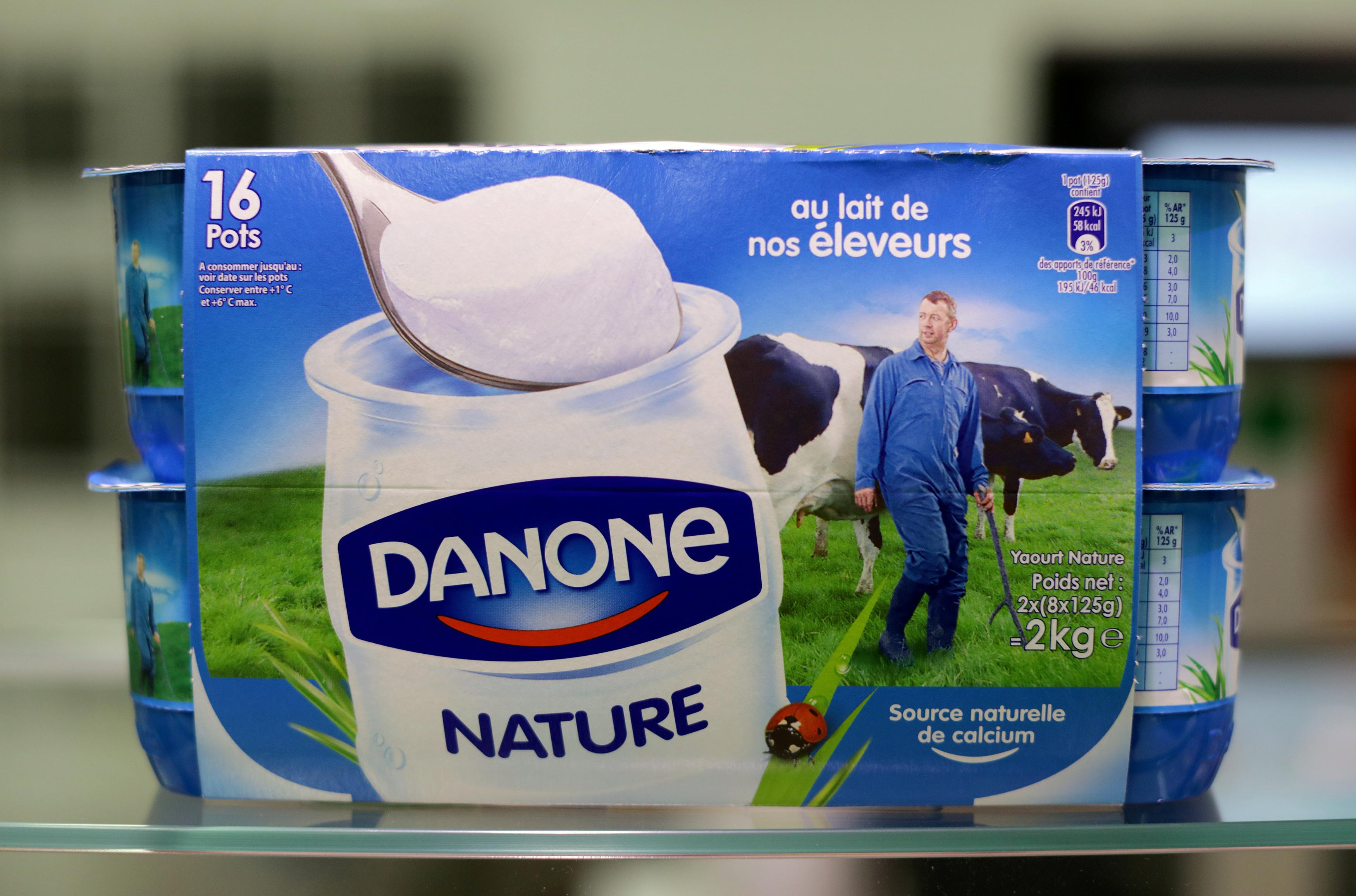 Danone bets on healthy eating business to boost growth - Reuters