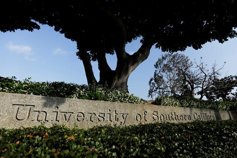 The University of Southern California is pictured in Los Angeles, California, U.S., May 22, 2018.  Mike Blake