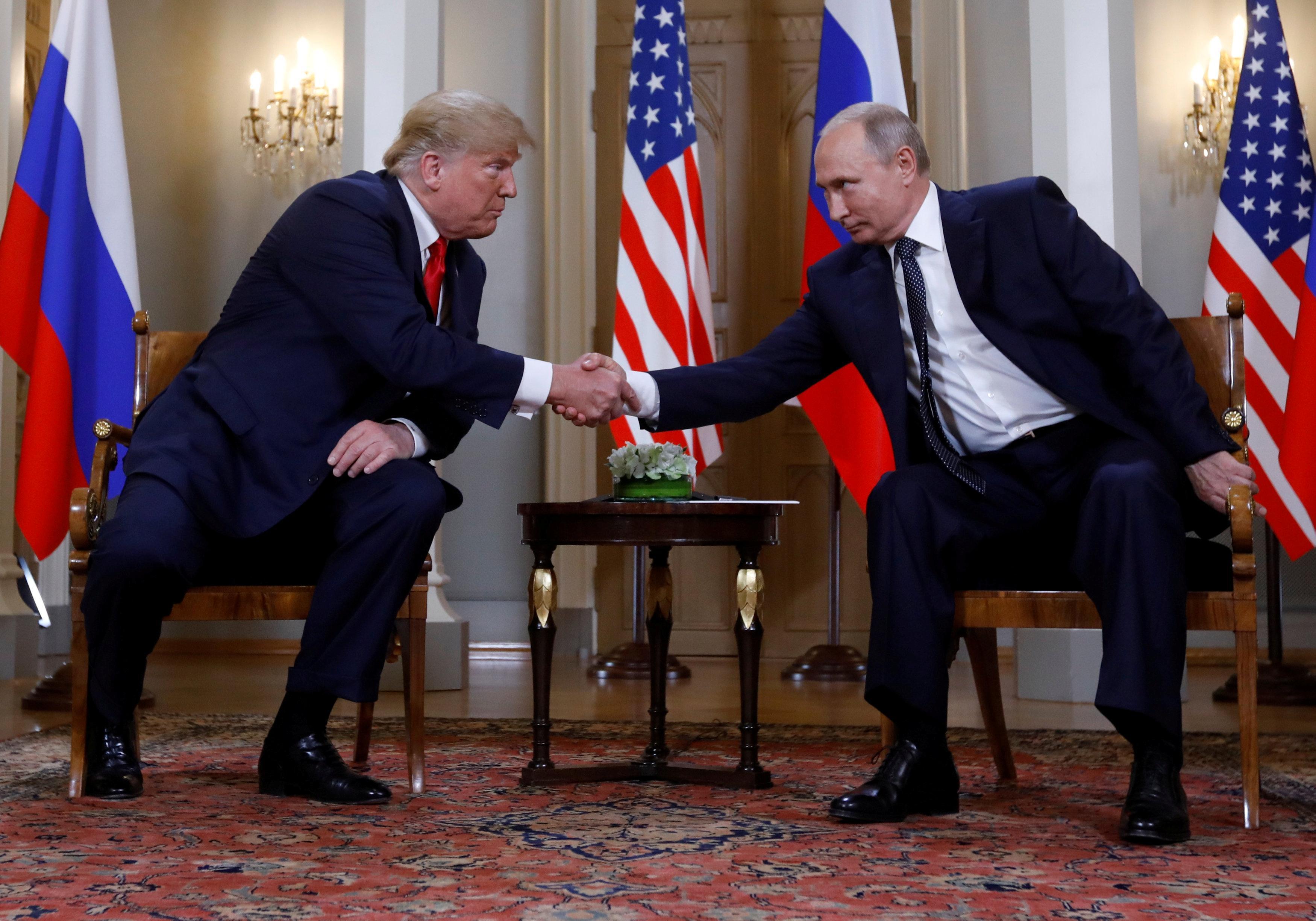 Hasil gambar untuk Trump says it 'certainly looks' as if Khashoggi is dead / wapo / GIF