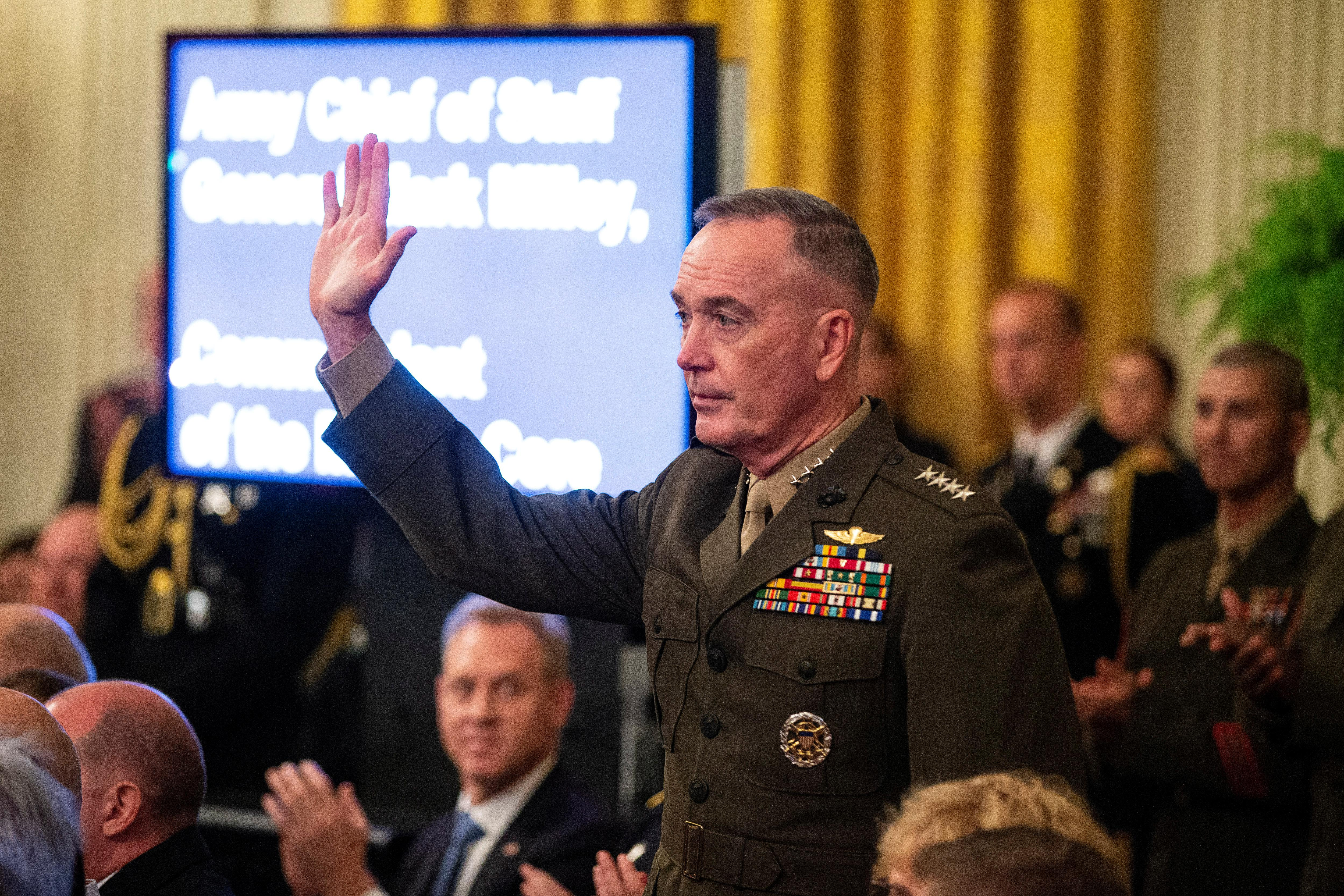 U.S.-North Korea talks could affect U.S. military posture in Korea: Dunford