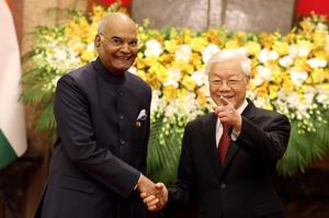 President Ram Nath Kovind visits Vietnam
