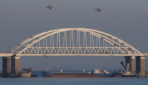 Russia seizes Ukrainian naval ships