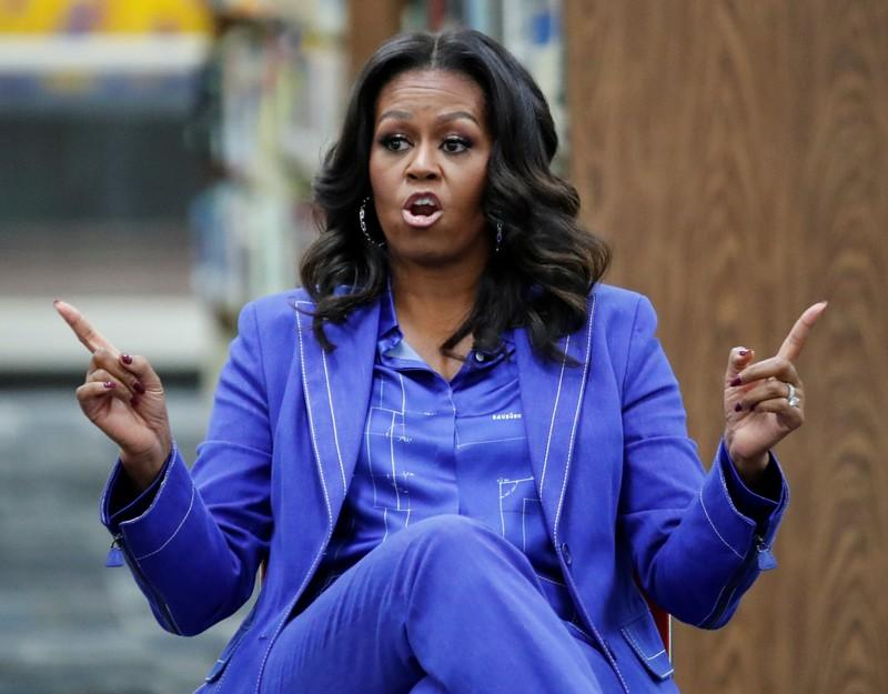 Michelle Obama confident progress can't be stopped, urges