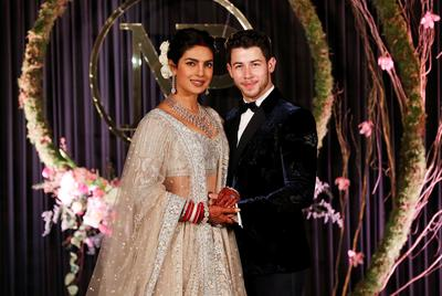 Priyanka Chopra, Nick Jonas celebrate wedding
