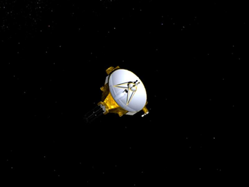 nasa probe believed to have passed distant space rock on landmark