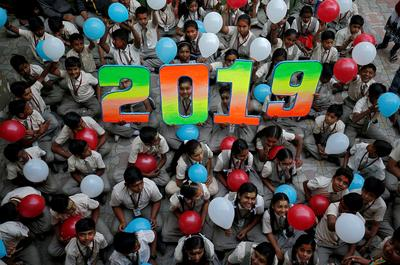 India welcomes 2019
