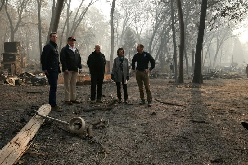 Trump Says To Halt Aid To California Wildfire Victims, But