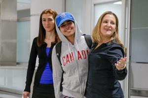 Saudi teen granted Canadian asylum