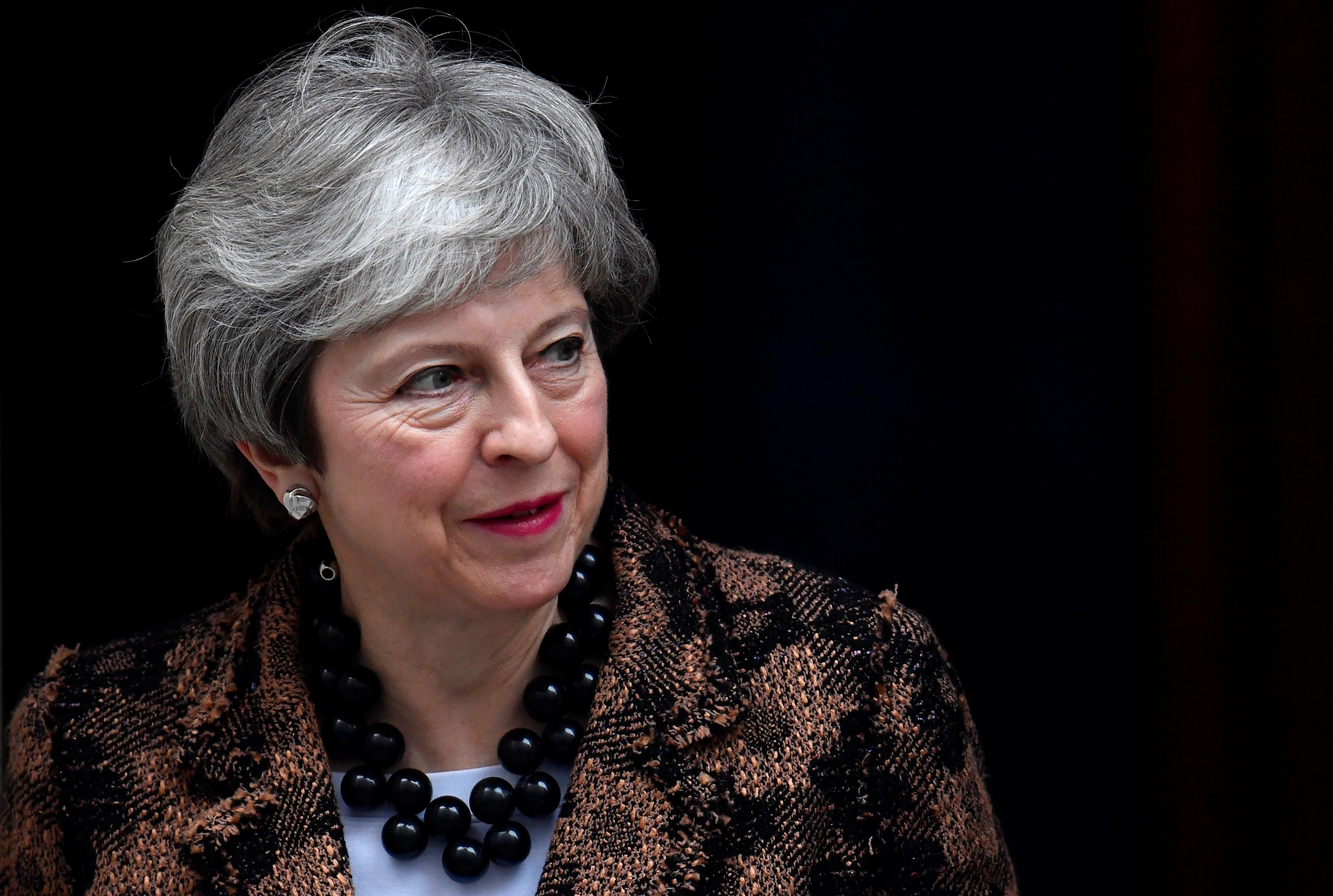 UK PM May says looking forward to exploring Polish proposal for backstop time limit