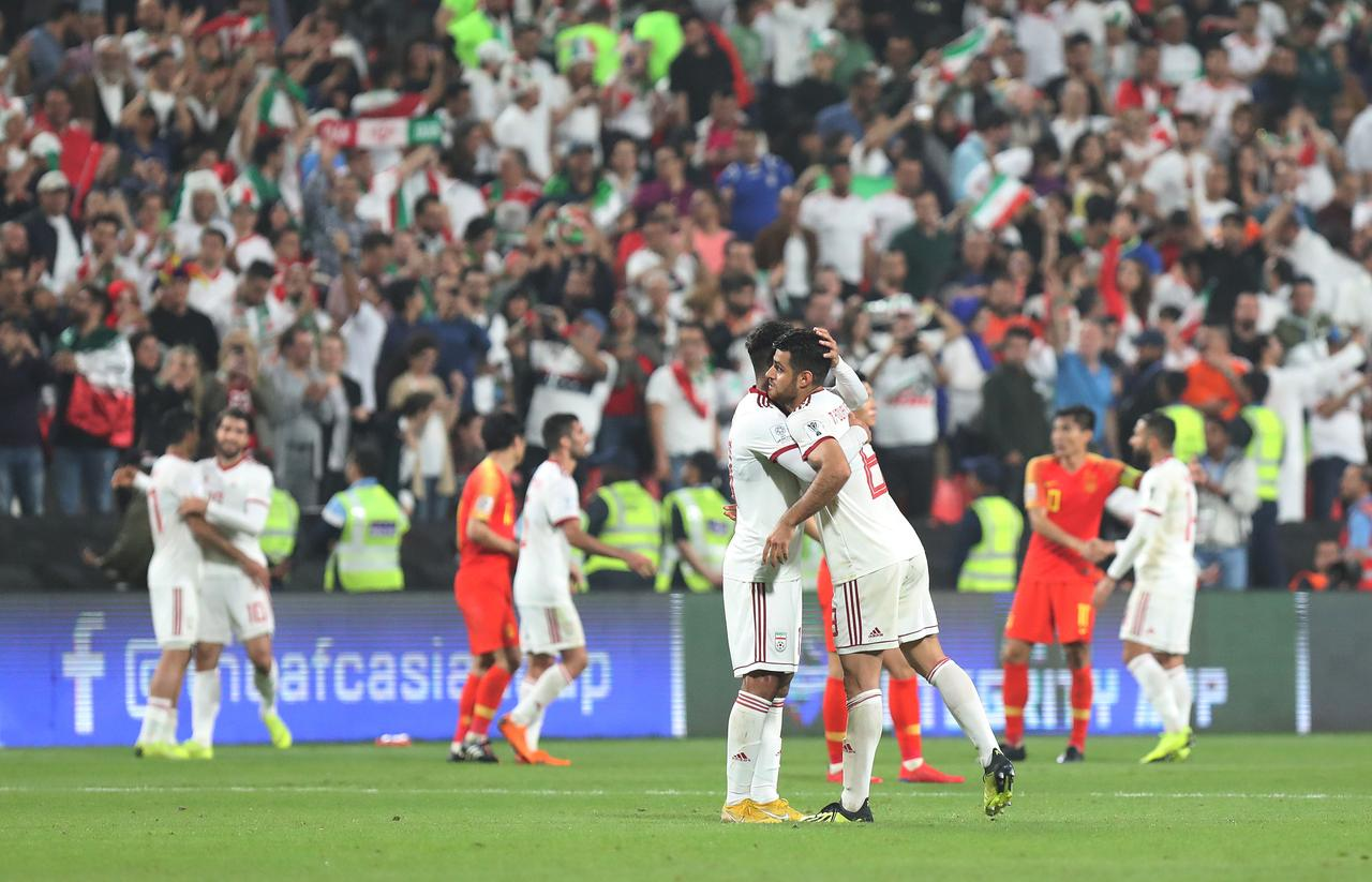 Soccer Football - AFC Asian Cup - Quarter Final - China v Iran - Mohammed  bin Zayed Stadium, Abu Dhabi, United Arab Emirates - January 24, ...