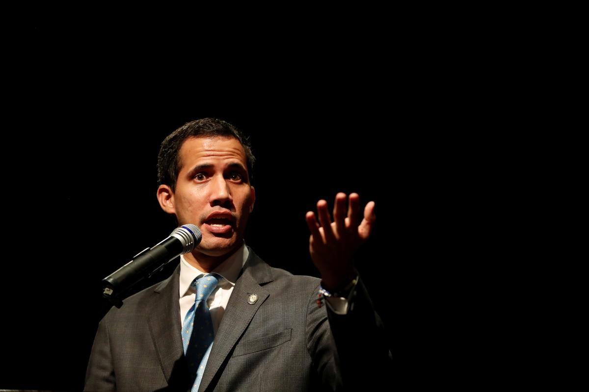 Venezuela's Guaido says he is working to restore ties with Israel