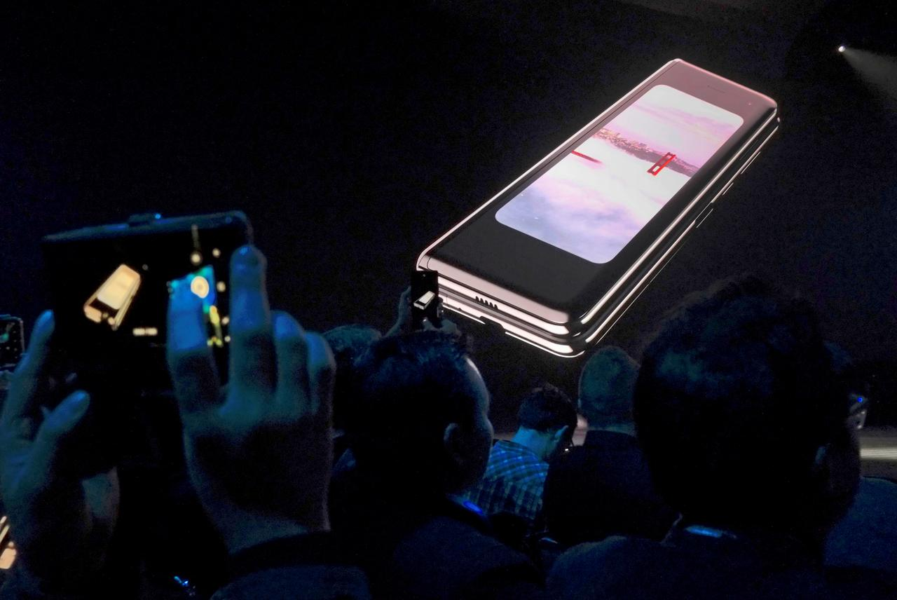 Blown away by innovation or price? Samsung's foldable phone opens