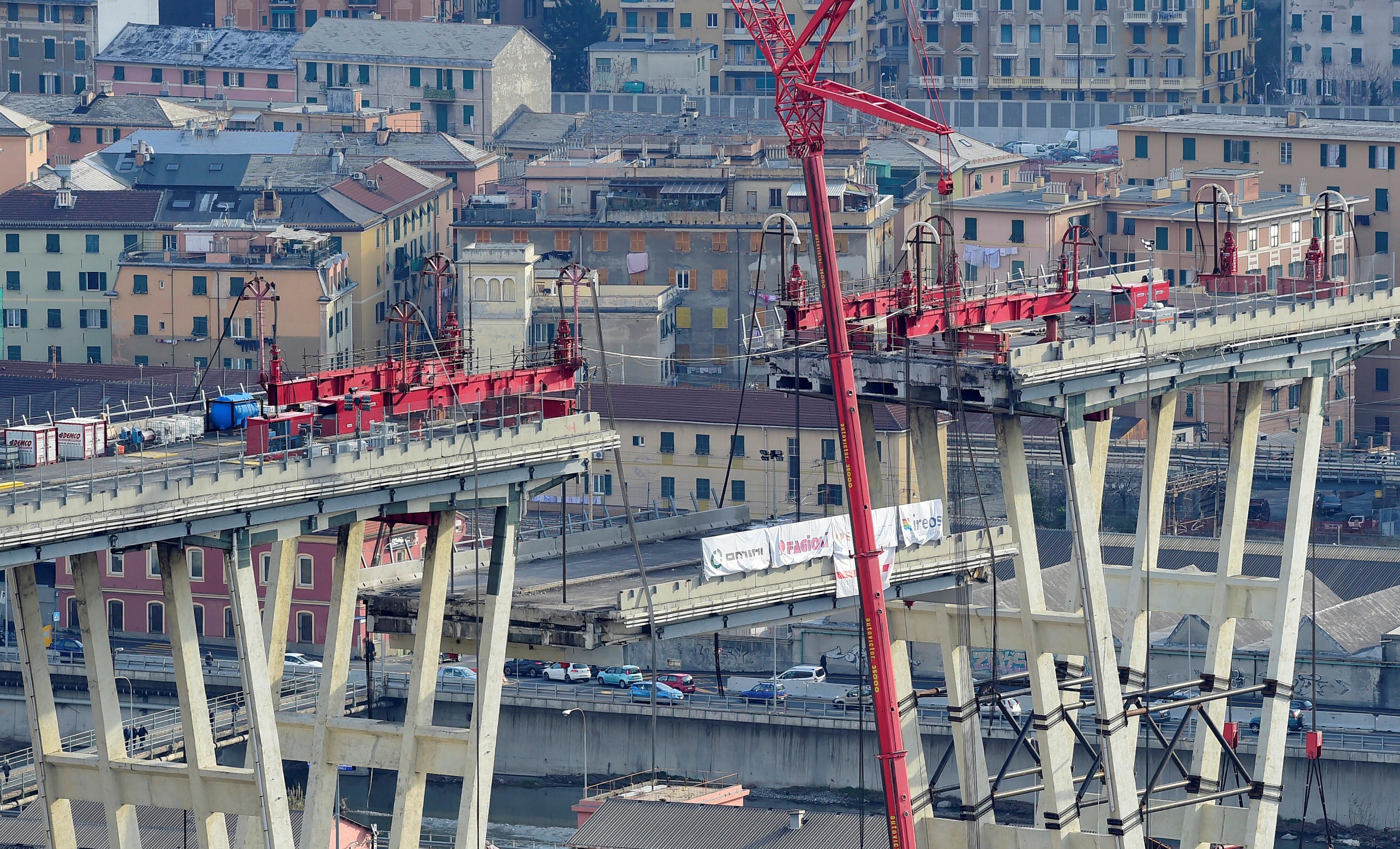Genoa bridge project a rare beacon for Italian construction