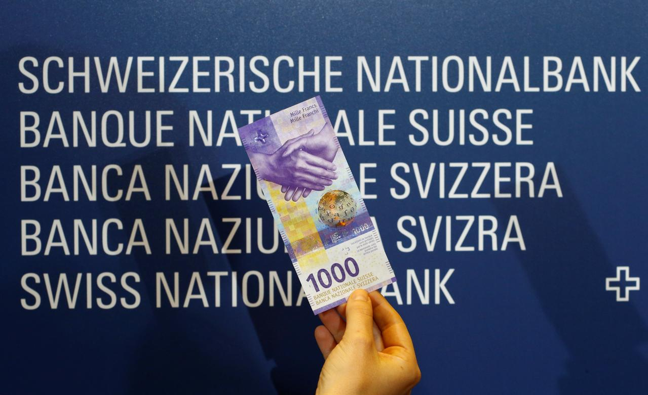 Cash-crazy Swiss get new 1,000 Swiss franc note - Reuters