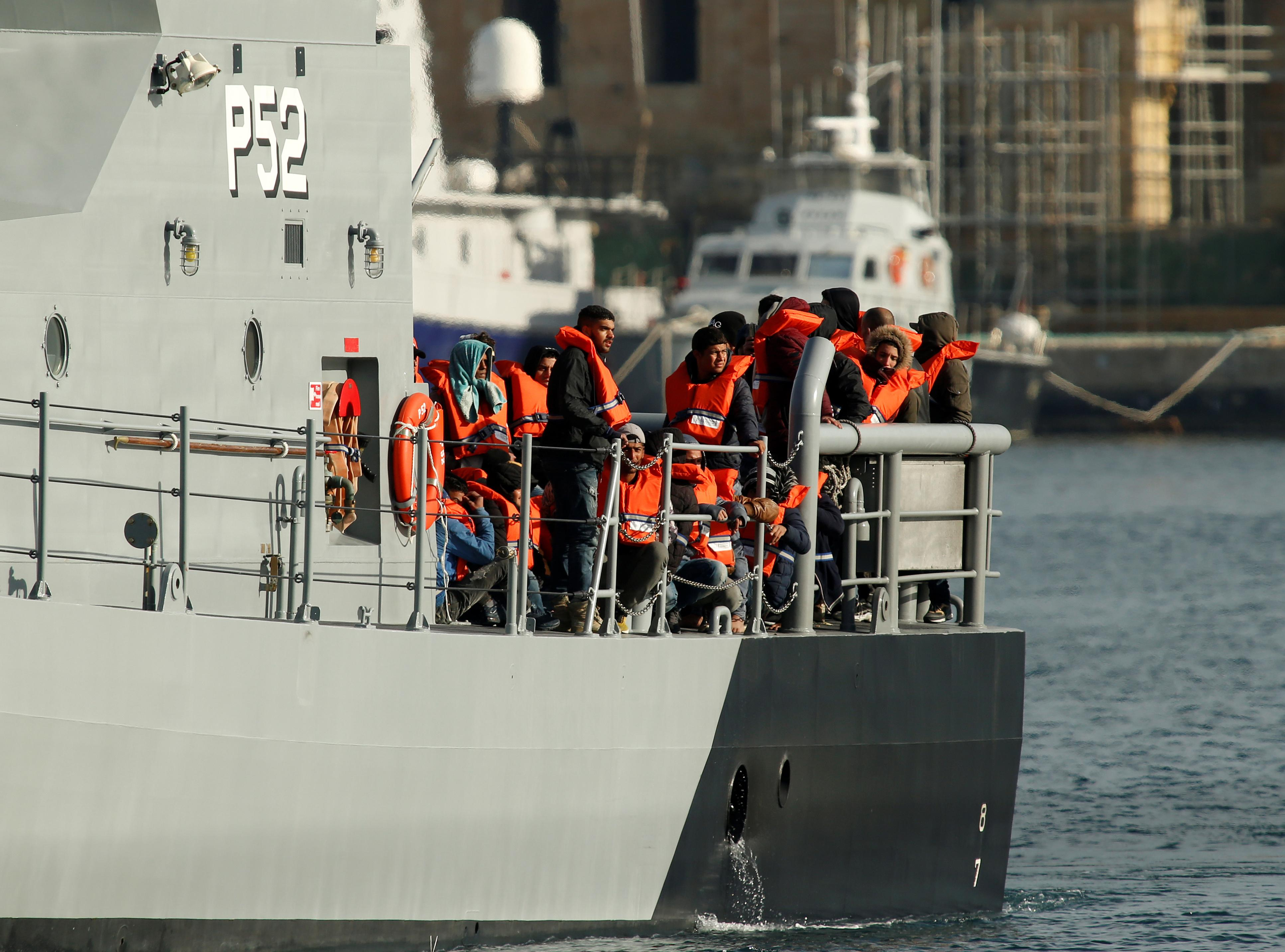 More than 80 migrants rescued off Italy's Lampedusa