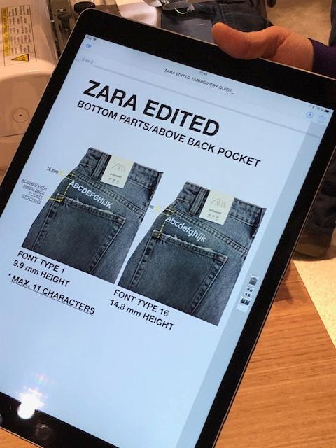 e0c043f4 Zara to open denim customization pop-ups in three stores - Reuters