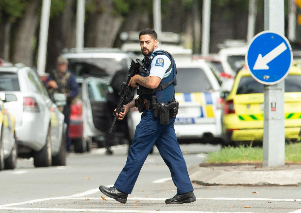 New Zealand police detain four after mosque shootings