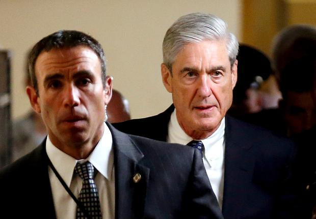 FILE PHOTO: Special Counsel Mueller departs after briefing members of the...