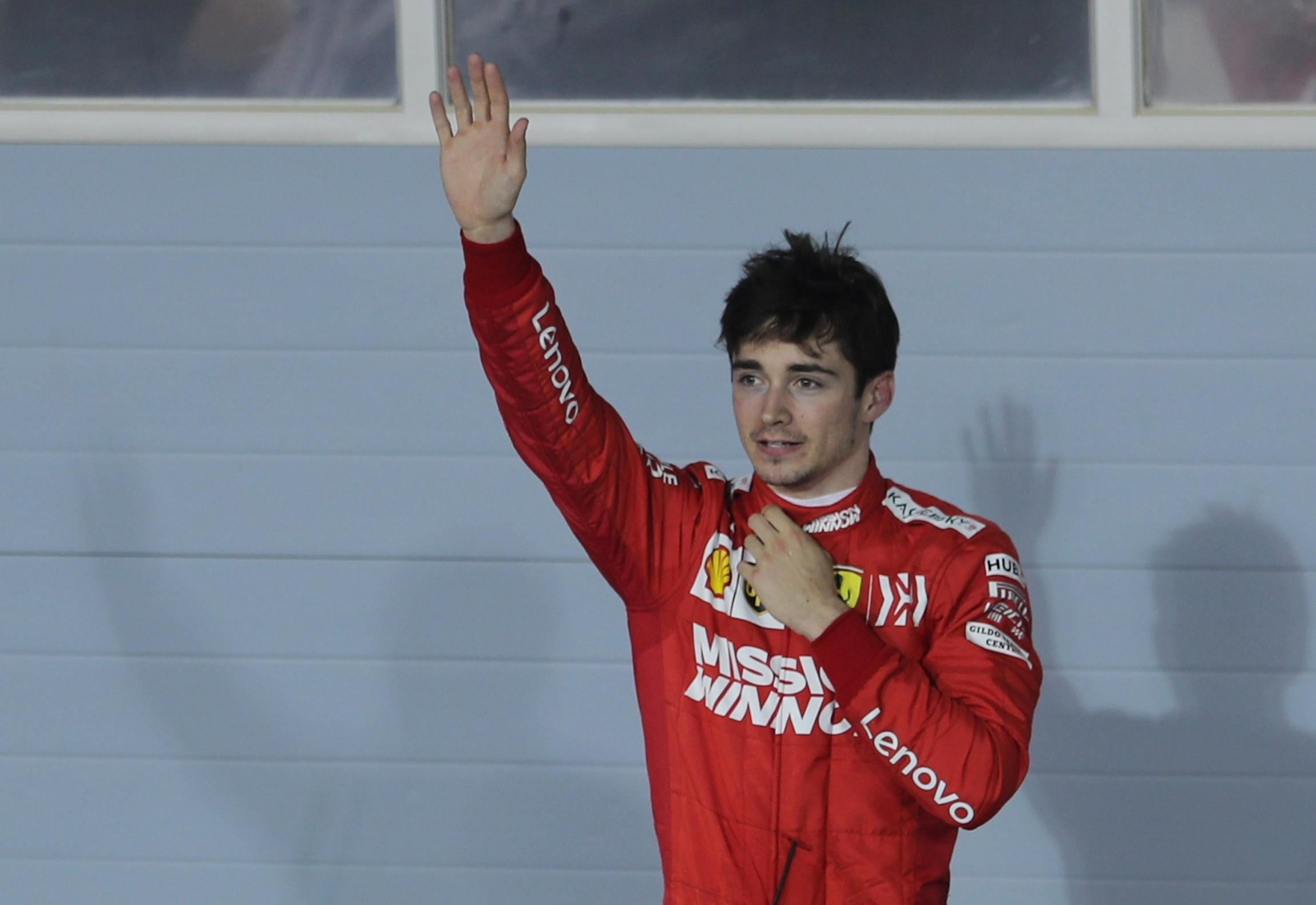 Motor racing - We will come back stronger, says luckless Leclerc