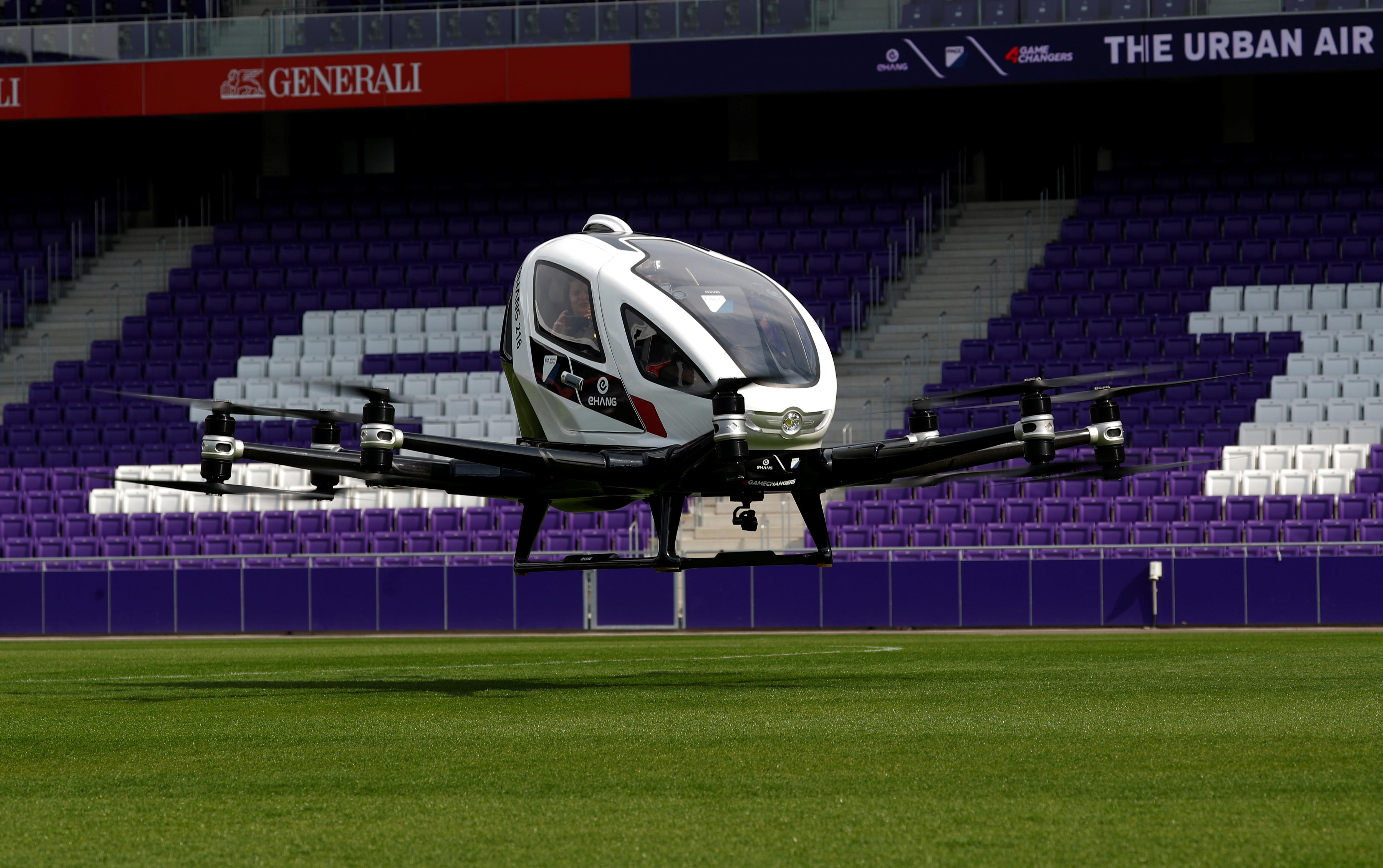 Pilot-less air taxi takes off in Vienna demonstration flight - Reuters