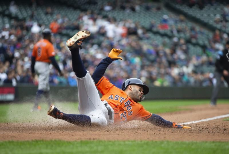 MLB Roundup: Astros Sweep Mariners, Run Win Streak To 9