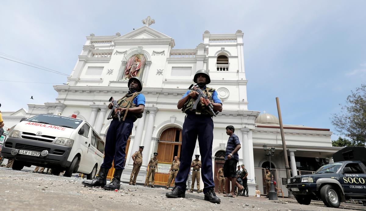 Bombs kill 138 in Easter Day attacks on Sri Lankan churches, hotels