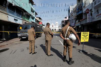 スリランカ、非常事態宣言を発令 40人逮捕