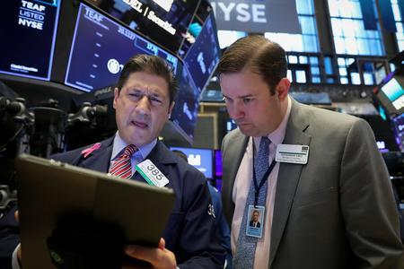 Wall Street set for flat open after Boeing, Caterpillar earnings