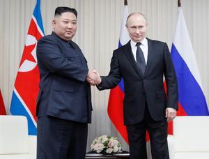 North Korean leader Kim Jong Un arrives in Russia