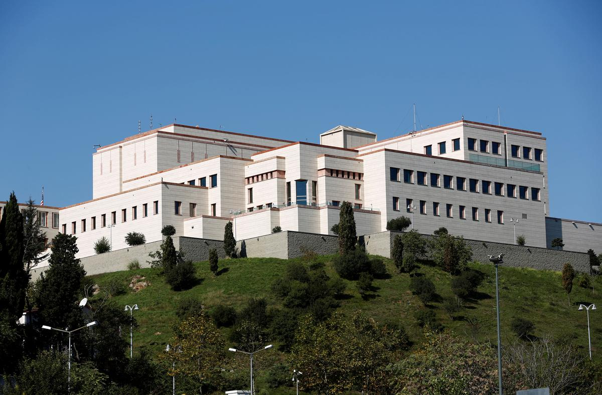 Turkey indicts third U S  Consulate worker in Istanbul on