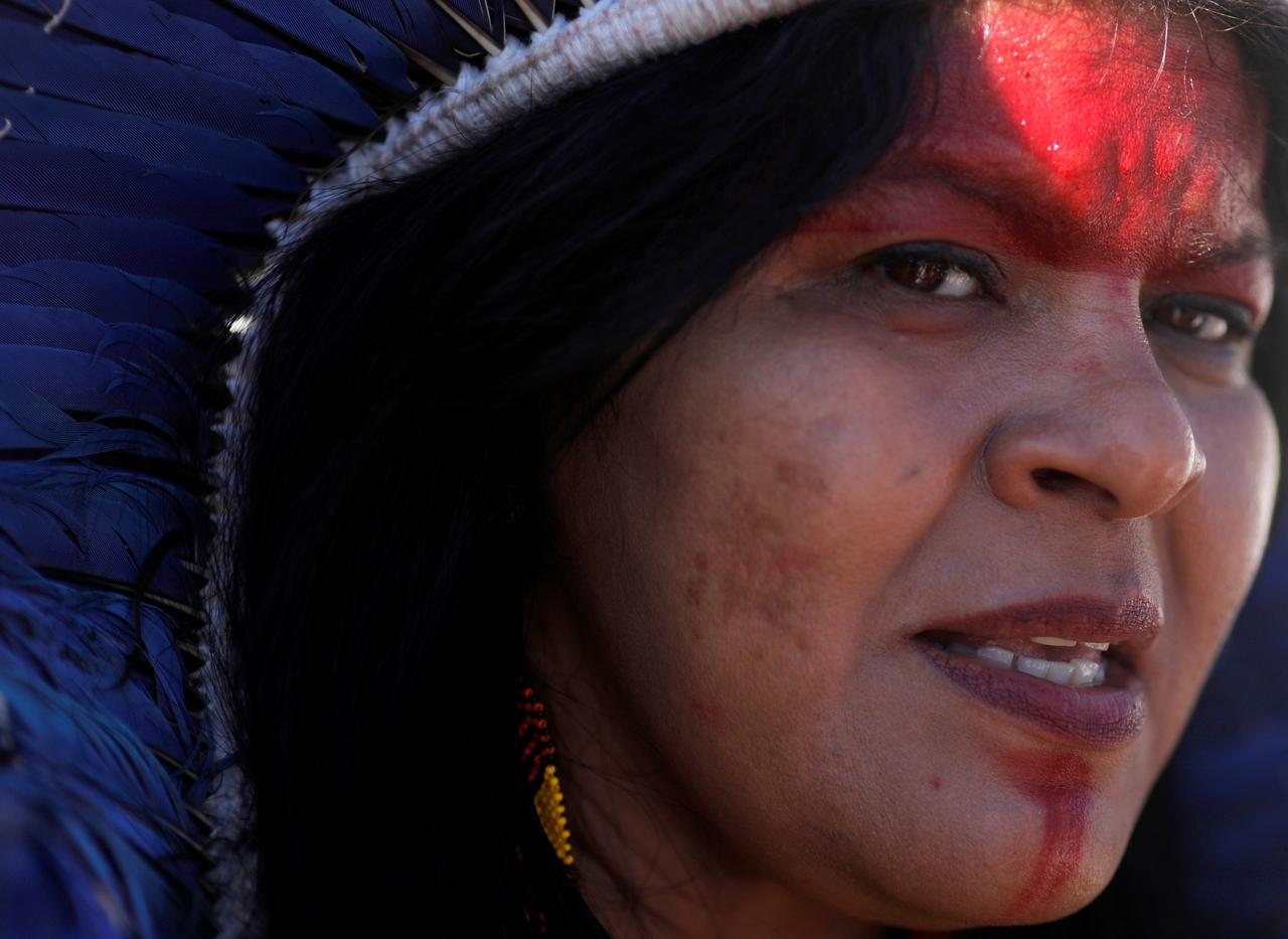 Breaking from tradition, indigenous women lead fight for land rights