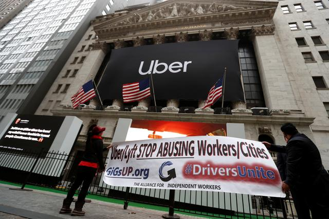 Uber's market debut sours most anticipated IPO since