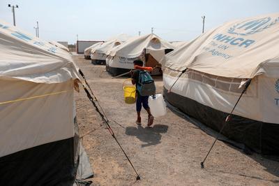 UN camp offers temporary respite for Venezuelan migrants