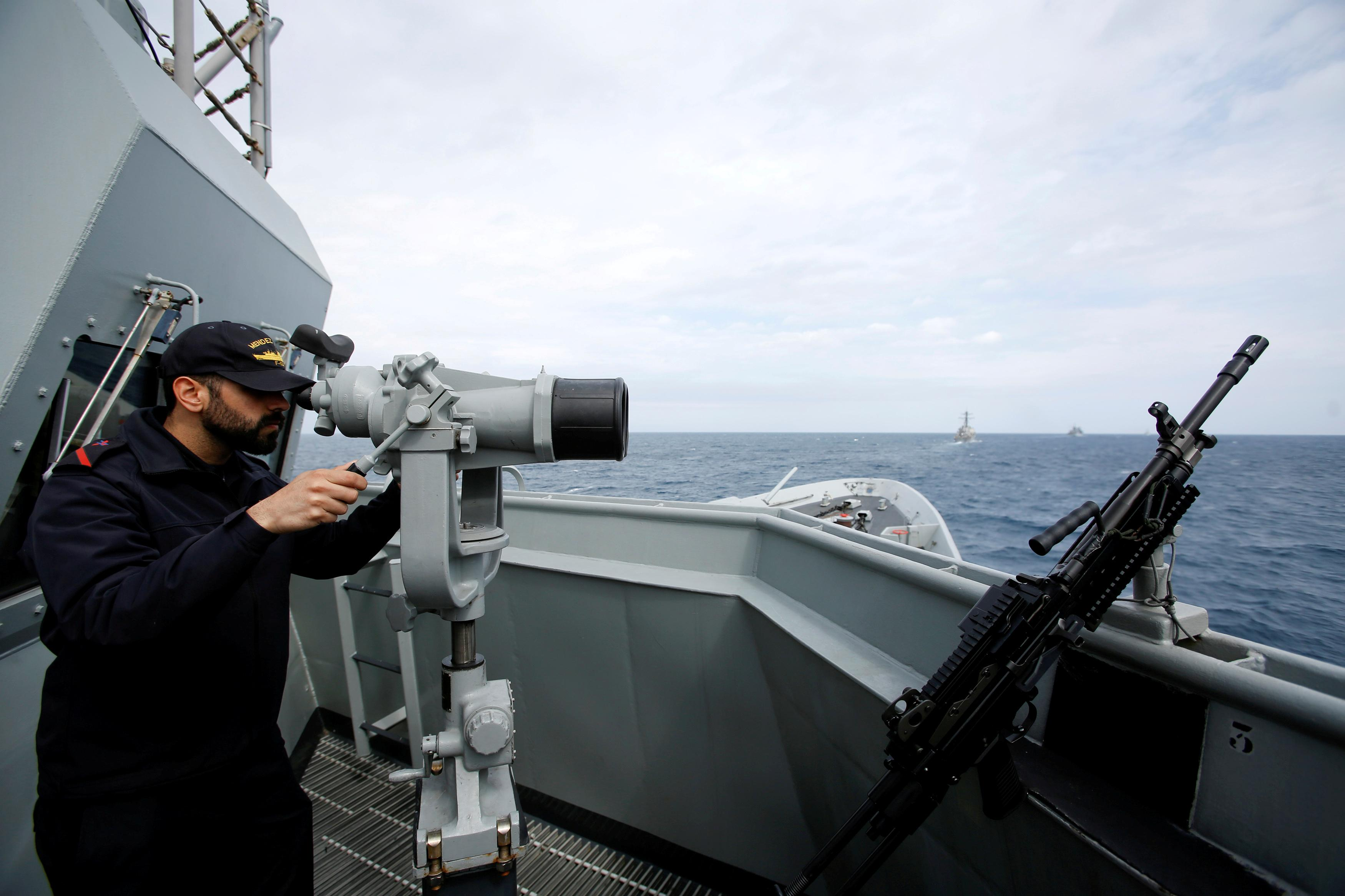 Spain pulls frigate from U.S. Gulf mission amid differences over Iran