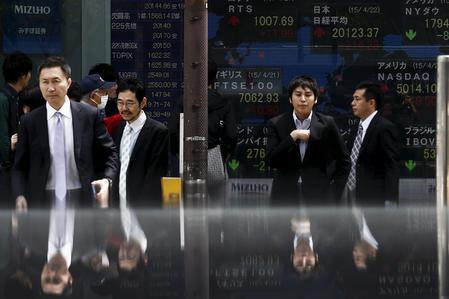 Asia shares shudder as Beijing talks tough