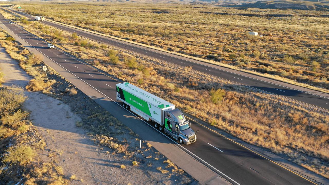 Self-driving trucks begin mail delivery test for U S  Postal