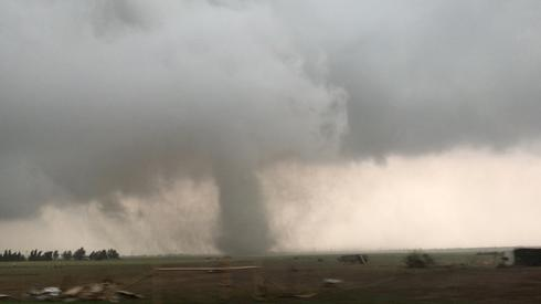Tornadoes tear through Oklahoma