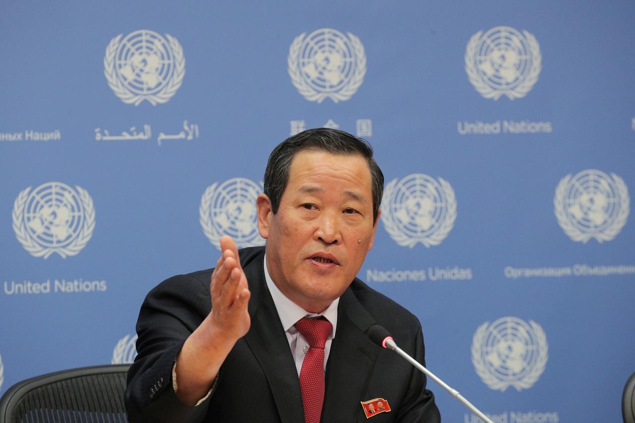 Image result for North Korea's U.N. Ambassador Kim Song