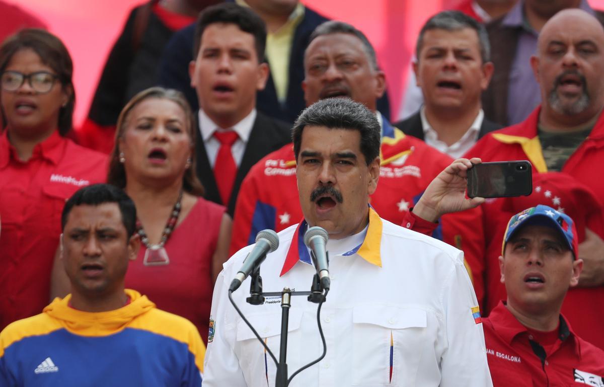 Maduro says U.S. seeks to destroy Venezuela state-backed food program