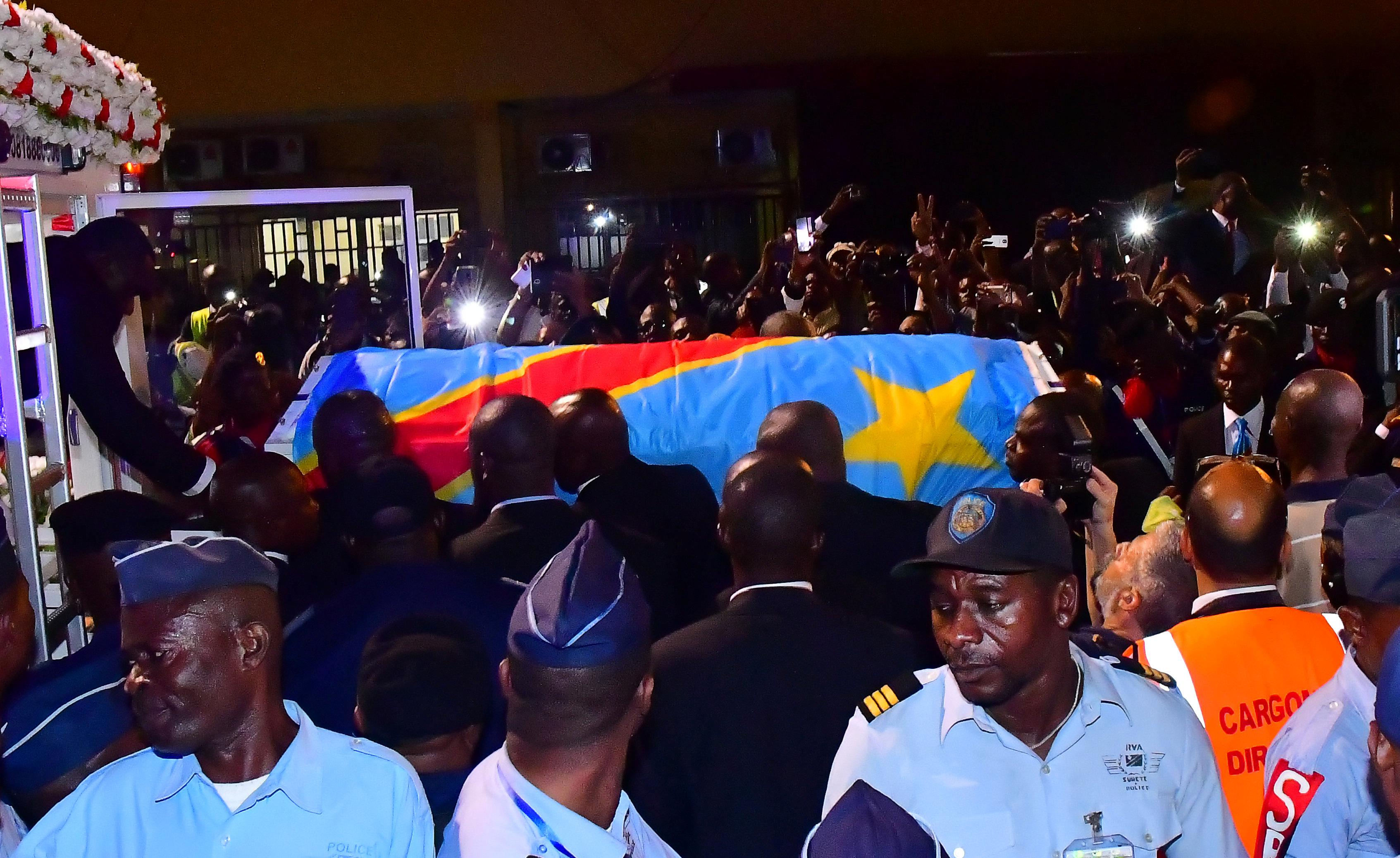 Body of Etienne Tshisekedi returns to Congo two years after death