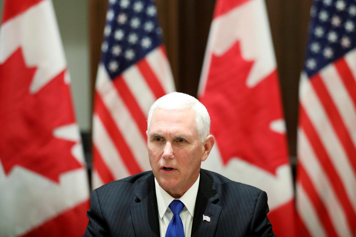 Pence: U.S. talks to continue, Mexico must do more on immigration